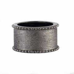 Dearest Ring Oxidized Silver