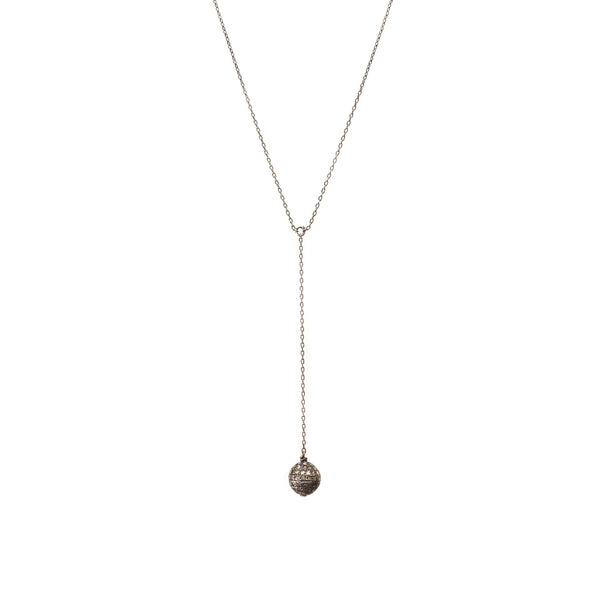 Diamond Drop Ball Pendant