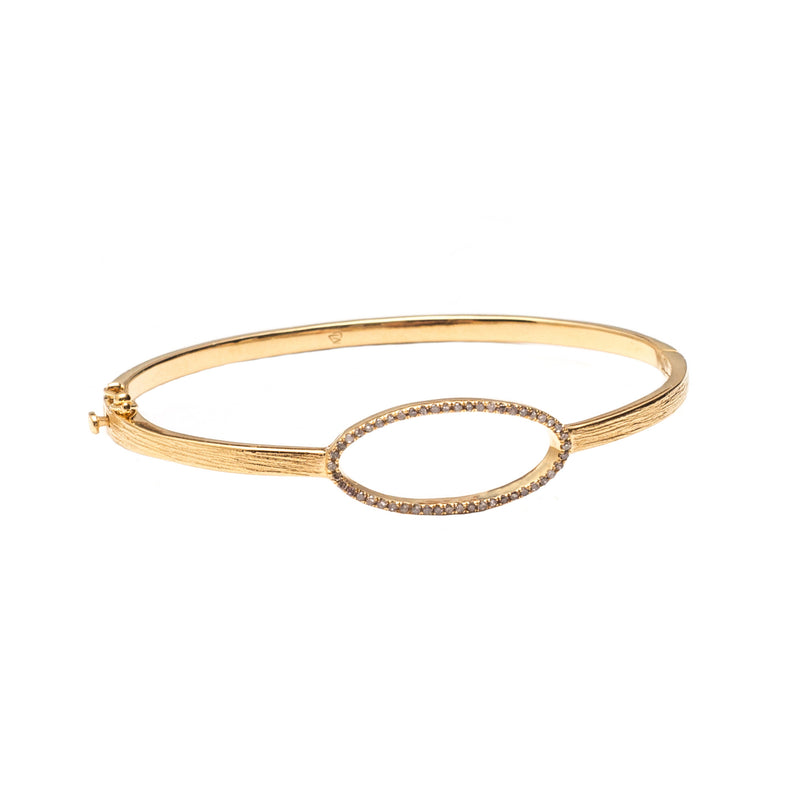 Beloved Oval Bracelet Gold - Shoshanna Lee
