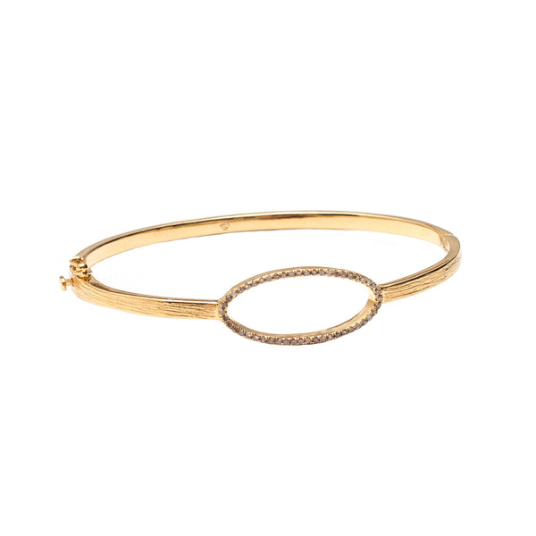 Beloved Oval Bracelet Gold