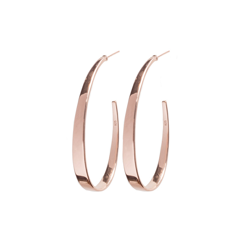 Hoop Earrings Rose Gold - Shoshanna Lee