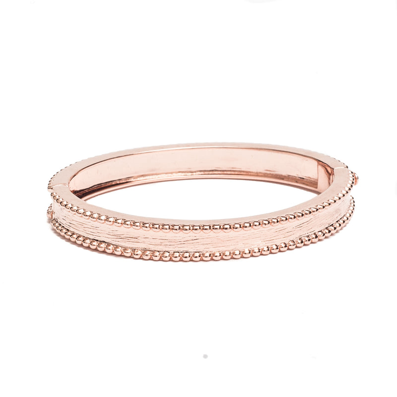 Brass Bangle Rose Gold - Shoshanna Lee