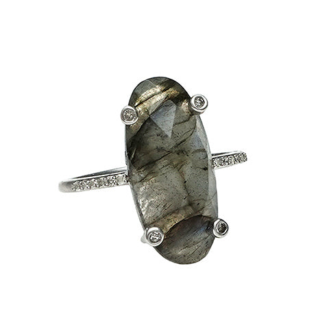 Miami Ring Labradorite - Shoshanna Lee