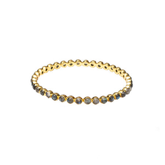 Chloe Labradorite Round Bangle