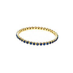 Chloe Lapis Round Bangle