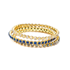 Chloe Lapis Round Bangle - Shoshanna Lee