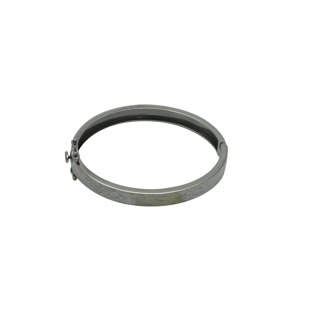 Basic Textured Oxidized Bracelet - Shoshanna Lee