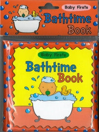 Baby Firsts Bathtime Book
