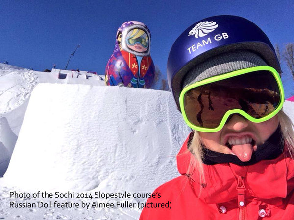 Sochi 2014 Slopestyle Russian doll feature