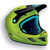 Bluegrass mtb bmx full face explicit helmet turquoise green black