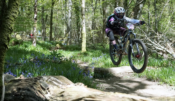 Elena Melton in action in the Enduro Worlds Series in Wicklow Ireland
