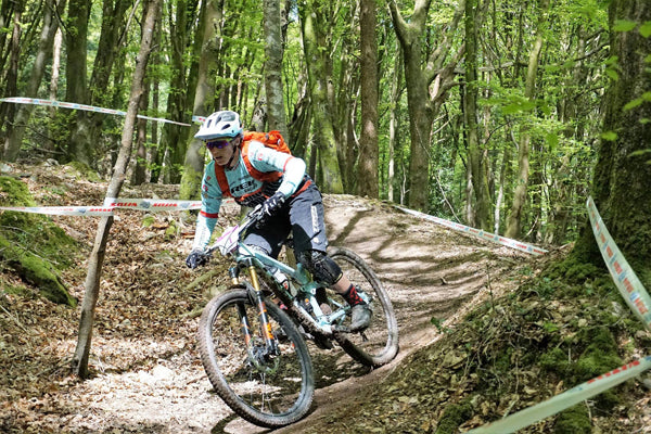Tracy Moseley in the Enduro World Series Wicklow Ireland