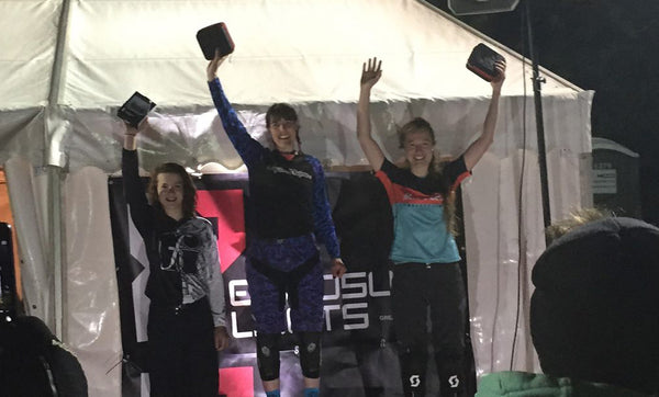Ellen Flewitt 3rd place in first Enduro race