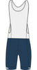 Maloja women's blue bib shorts