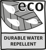 Durable water repellent eco
