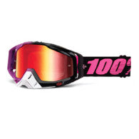 100% MX DH BMX Goggles Racecraft Haribo Purple Black White