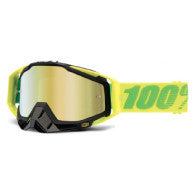 100% MX DH BMX Goggles Racecraft Sour Patch Fluro Green Yellow