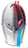 Bluegrass Brave Full Face Helmet - White Pink Emerald