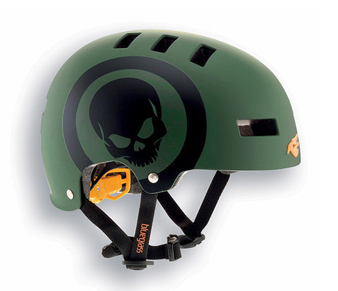 Bluegrass Super Bold Helmet Skull Matt Green