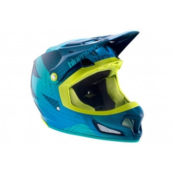 Bluegrass Brave Full Face Helmet - Turquoise Blue