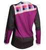 DHaRCO Ladies Gravity MTB Jersey - purple checkers 3