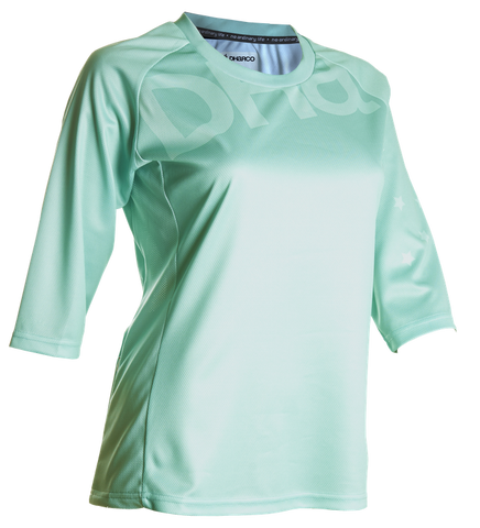 DHaRCO Ladies 3/4 mtb dh Jersey - aqua mint green 1