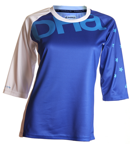 DHaRCO Ladies 3/4 Jersey - dazzling blue MTB DH/Freeride 1
