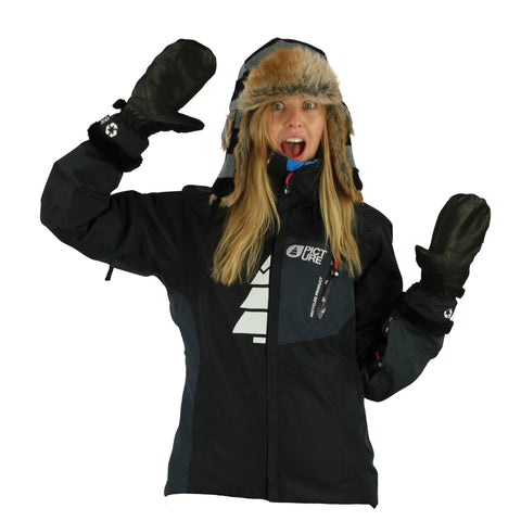Picture Organic Clothing Winter Feeling Jacket Black, Women's Snowboarding/Ski Jacket