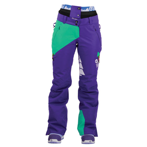 Picture Organic Clothing Feeling Pants Purple/Green, Women's Snowboarding/Ski Pants