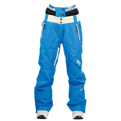 Picture Organic Clothing Iceberg Pants Blue, Women's Snowboarding/Ski Pants