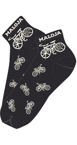 Maloja TarikM Bike Socks, Moonless, Cycling Socks