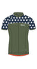 Maloja 2015 FidaM Women_s Bike Shirt_Treehouse_Women's Cycling Top Jersey MTB Road Green Stars