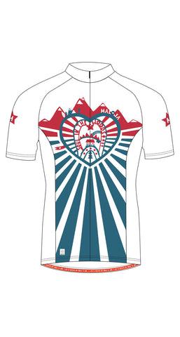 Maloja 2015 KamiM Womens Short Sleeved Cycling Jersey_Snow_Front