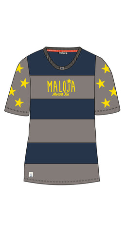 Maloja 2015 NataliaM Womens Short Sleeve Freeride Top_Cloud_Front