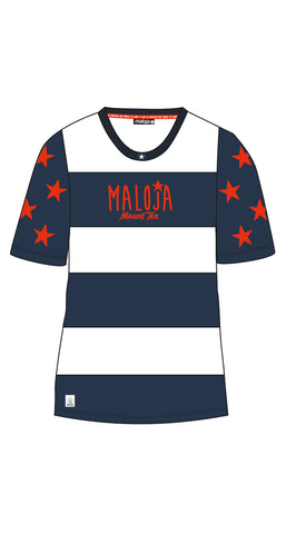 Maloja 2015 NataliaM Womens Short Sleeve Freeride Top_Nightfall_Front