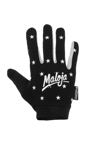 Maloja Freeride mtb full-finger WarrenM Glove black stars