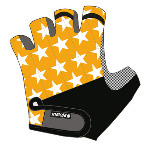 Maloja JalschaM Women's Bike / Cycling / MTB Fingerless Gloves, Curcuma