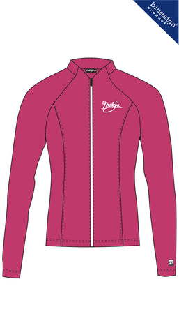 Maloja MalikaM Ladies Bike Longsleeve Top, Orchid, Women's Cycling Jacket