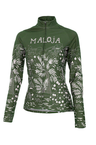 Maloja MarrakeshM Women's Bike Top, Cactus, Women's Cycling Jacket 1