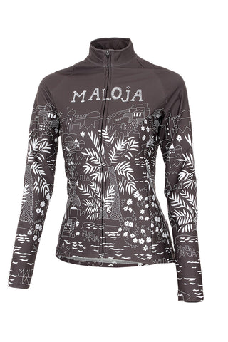 Maloja MarrakeshM Women's Bike Jacket, Moonless, Women's Cycling Jacket