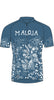 Maloja MarrakeshM Women's Bike Shirt, Azur, Women's Cycling Top 1