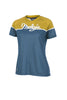 Maloja RihlaM Women's Freeride Top, Blue Yellow, Women's MTB Jersey