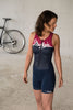 Maloja RihlaM Women's Tri-Body, Deep Ocean, Women's Triathlon Overall 4
