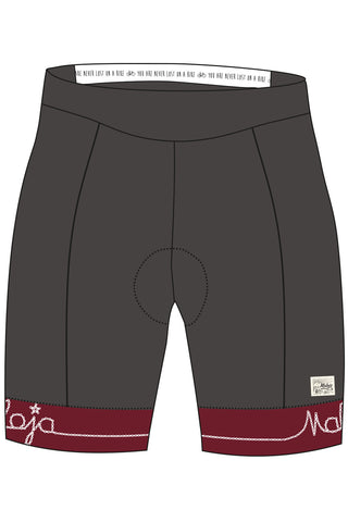 Maloja KathleenM Women's Bike Pants, Charcoal, Cycling Shorts