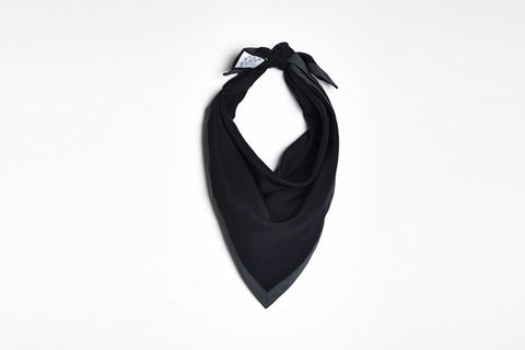 No such thing black reflective scarf