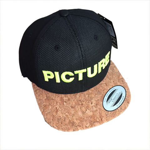 Picture-Organic-Clothing_Cap_Snapback_Cork_Black_1
