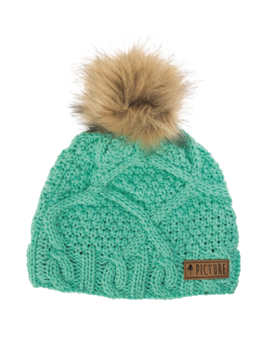 Picture Organic Clothing Winter, Snowboard Ski Beanie, Judy, Green