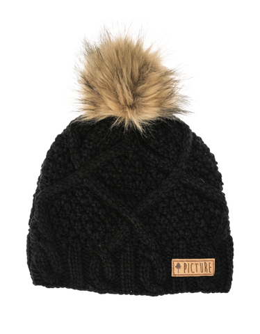 Picture Organic Clothing Winter, Snowboard Ski Beanie, Judy, Black 1