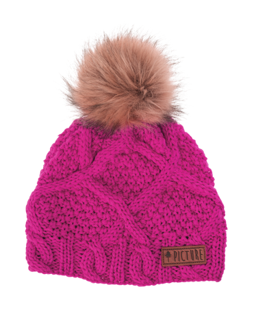Picture Organic Clothing Winter, Snowboard Ski Beanie, Judy, Pink
