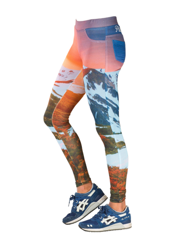 Picture Organic Clothing Ladies Leggings Safari Print_1